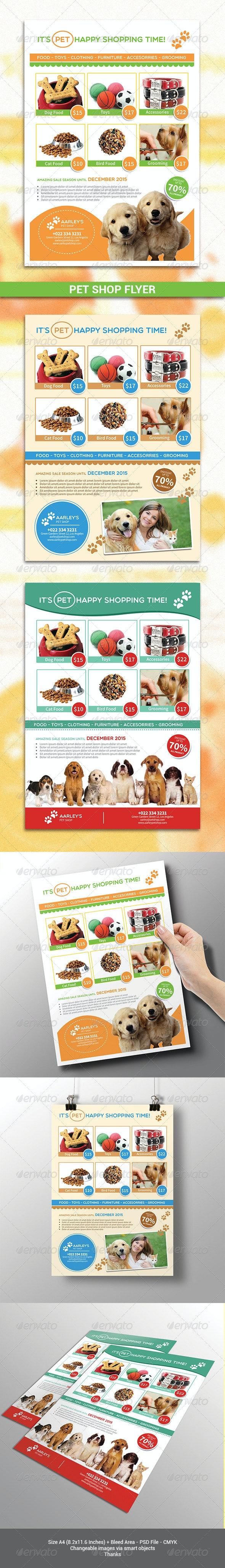 Pet Shop Flyer - Corporate Flyers