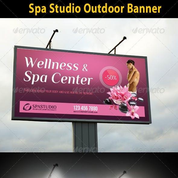 Spa Studio Outdoor Banner 08
