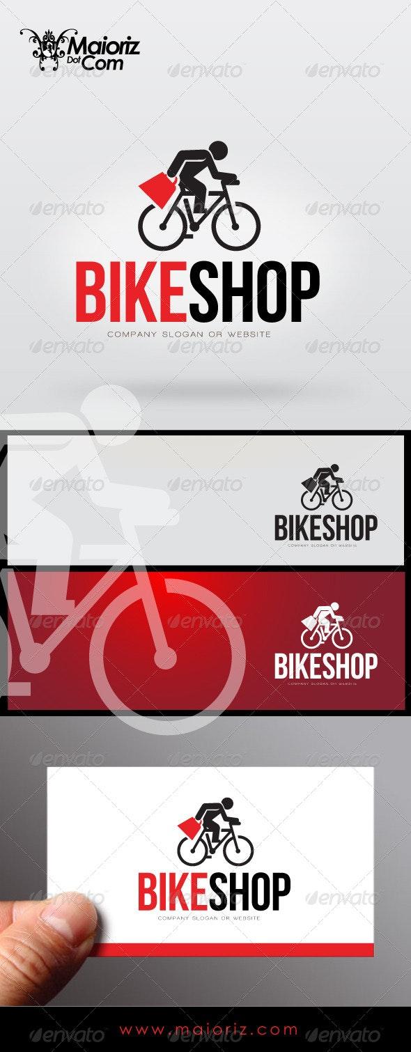 Bike Shop Logo Template - Objects Logo Templates