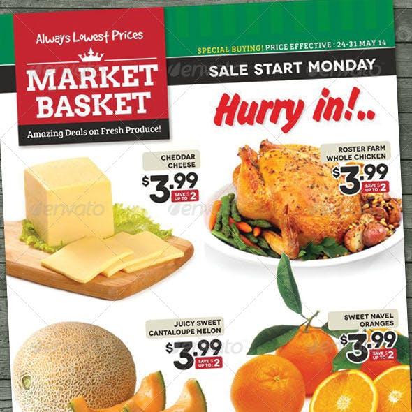 Supermarket Sale Flyer