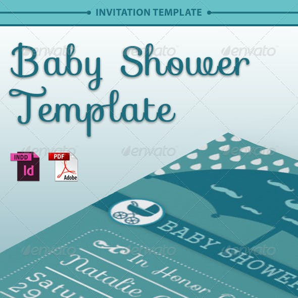 Baby Shower Template - Vol. 4