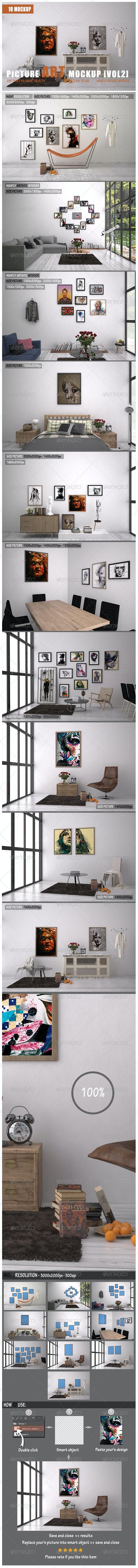 Picture Art Mockup [Vol 2] - Miscellaneous Print