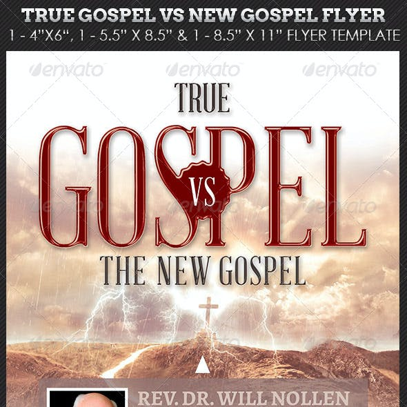 True Gospel Church Flyer Template