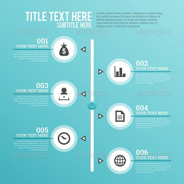 Vertical Slider Infographic