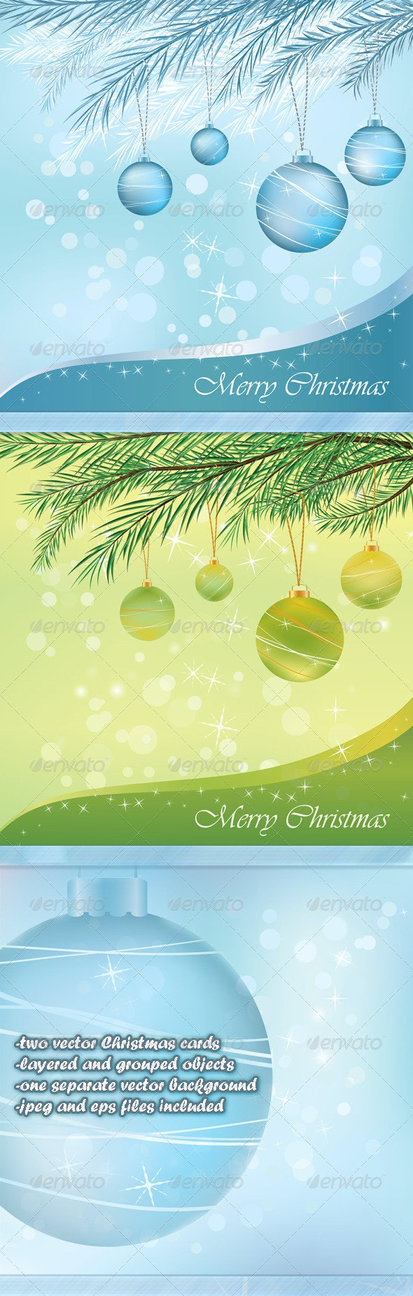 Christmas cards - Christmas Seasons/Holidays