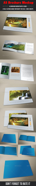 A5 Brochure Mockup - Brochures Print