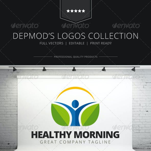 Healthy Morning Logo