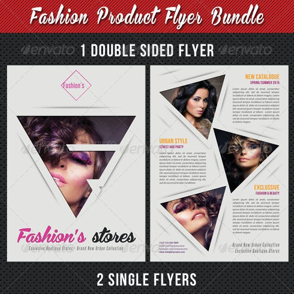 3 in 1 Fashion Product Flyer Bundle 20