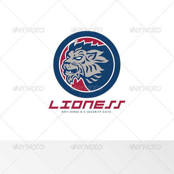 Lioness Anti-Virus and E-Security Suite Logo