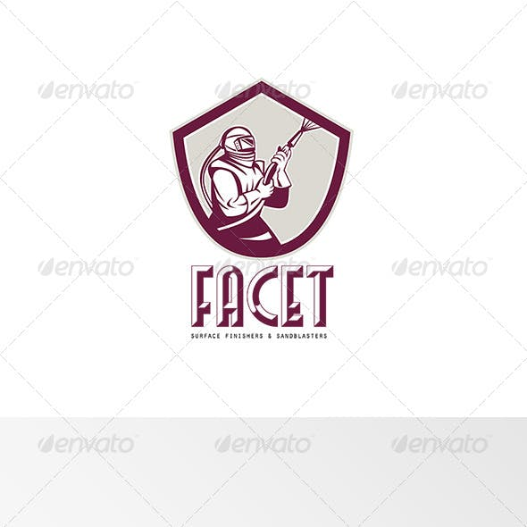 Facet Surface Finishers and Sandblasters Logo