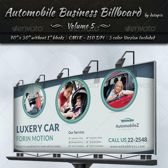 Automobile Business Billboard | Volume 5