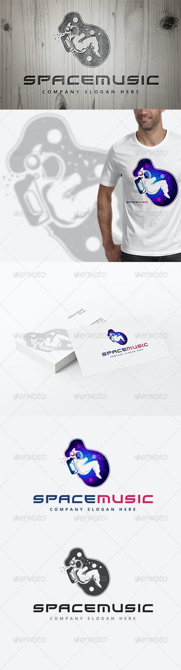 Space Music Logo - Humans Logo Templates