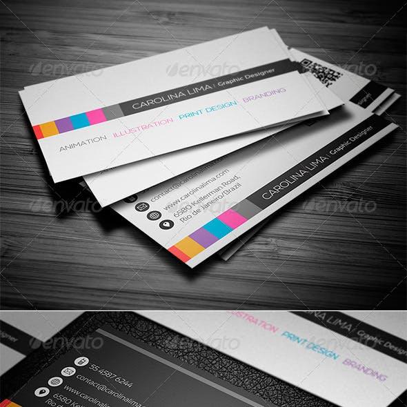 Creative Designer Business Card Vol. 04