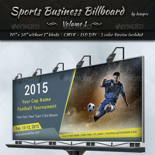 Sports Business Billboard   Volume 1