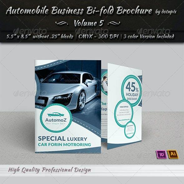 Automobile Business Bi-Fold Brochure | Volume 5