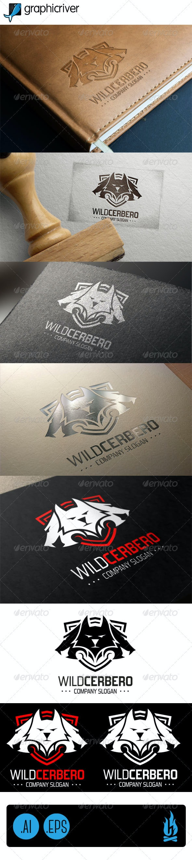 Wild Cerbero Logo - Animals Logo Templates