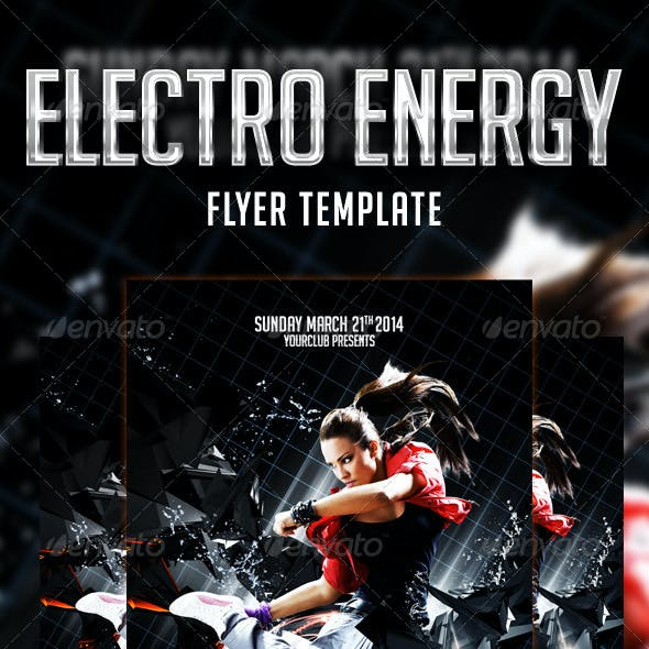 Energy Flyer Template