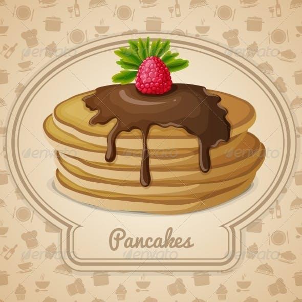 Baked Pancakes Emblem