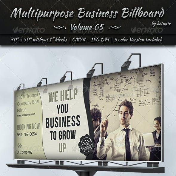Multipurpose Business Billboard | Volume 5