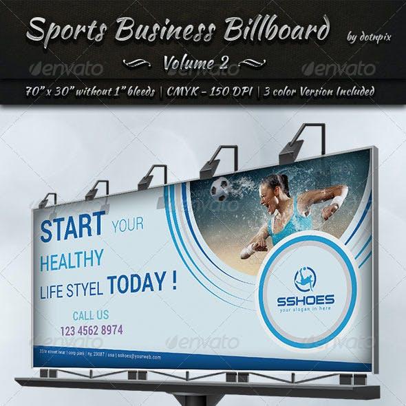 Sports Business Billboard   Volume 2