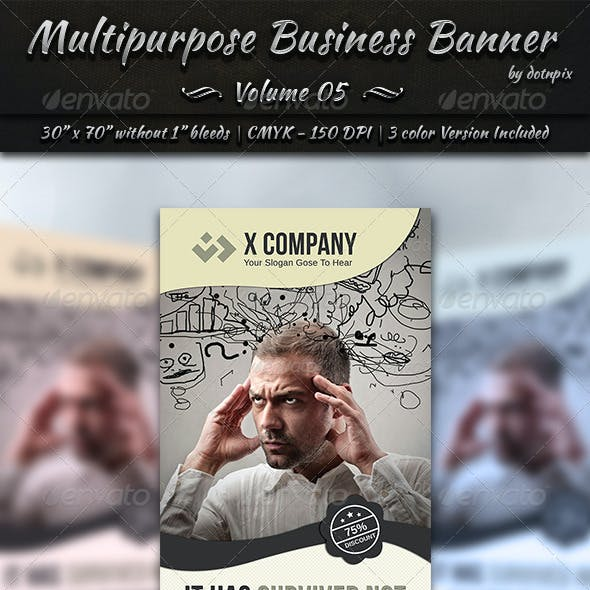 Multipurpose Business Banner | Volume 5