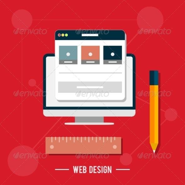 Web Design Concept - Computers Technology