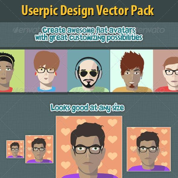 Flat Avatar Creation Kit