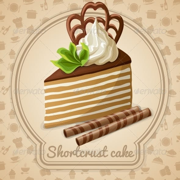 Shortcrust Cake Label