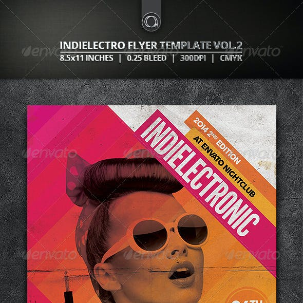 Indielectro Flyer Template Vol.2