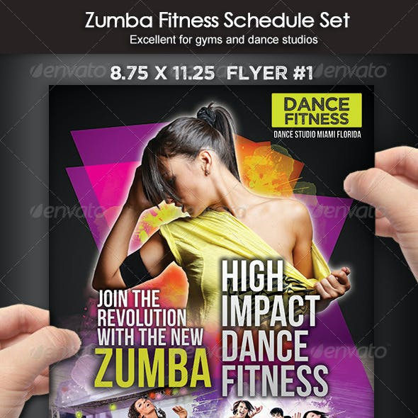 Zumba Dance Fitness Set