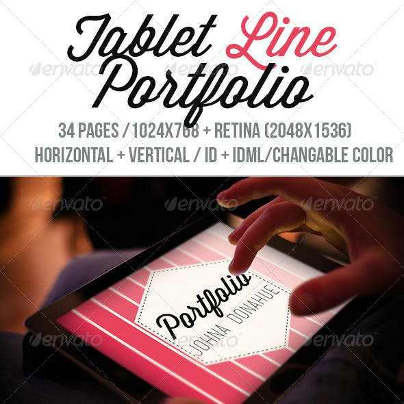 iPad & Tablet Line Portfolio