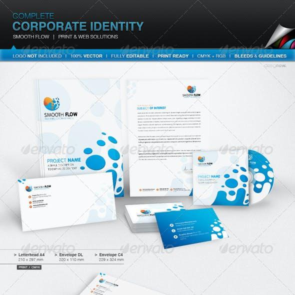 Corporate Identity - Smooth Flow