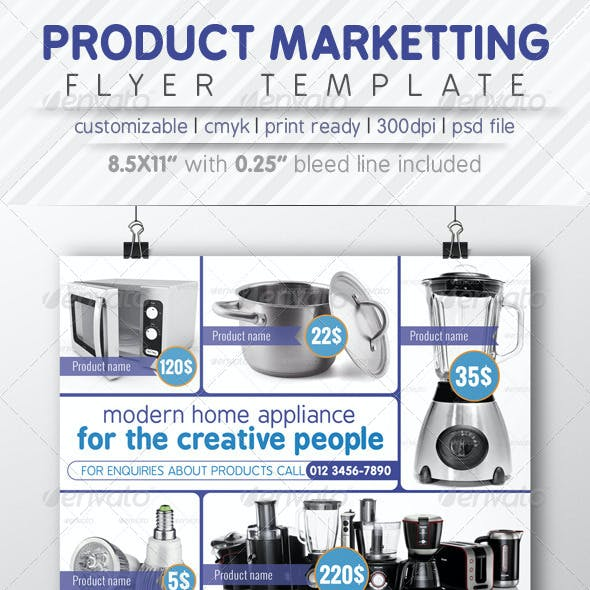 Product Marketting Flyer Ads