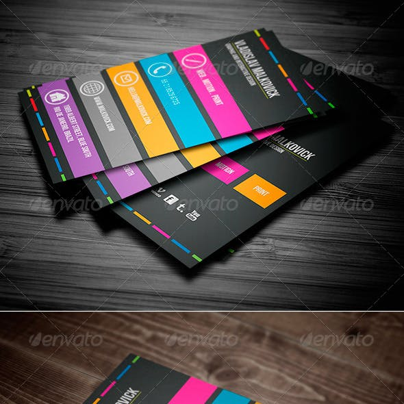 Creative Designer Business Card Vol. 03