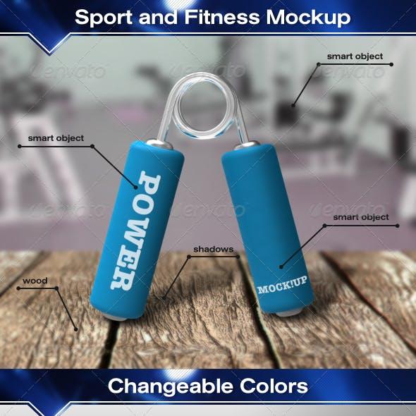 Fitness Mockup