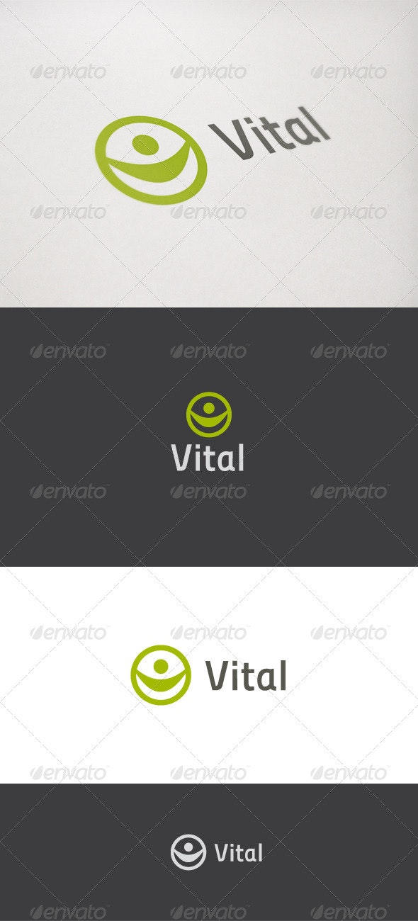 Vital - Humans Logo Templates