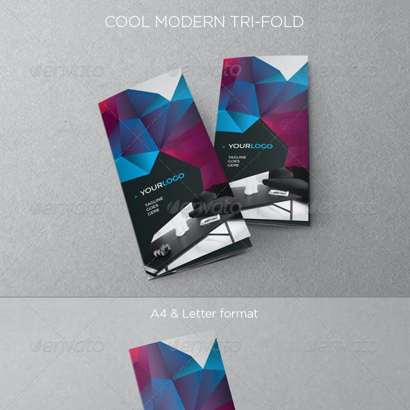 Cool Modern Trifold