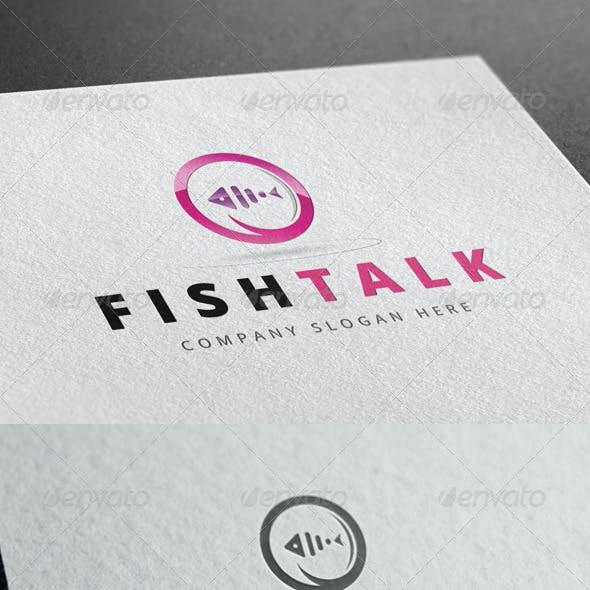 Fish Talk Logo