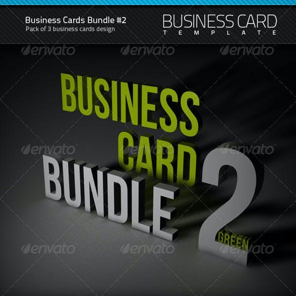 Business Cards Bundle #2