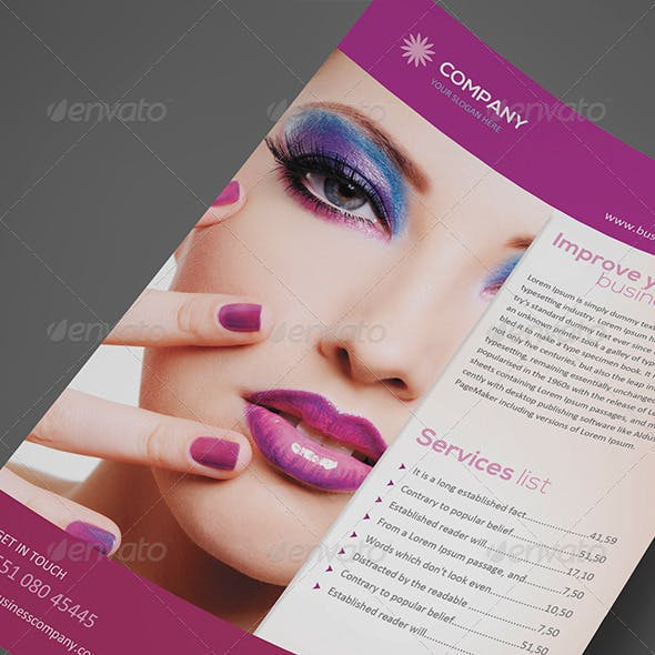 Beauty Flyer Vol. 01