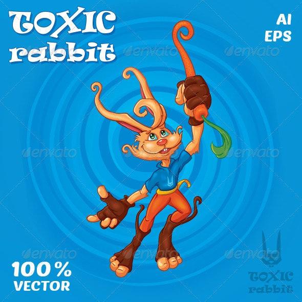 Toxic Rabbit - Characters Vectors