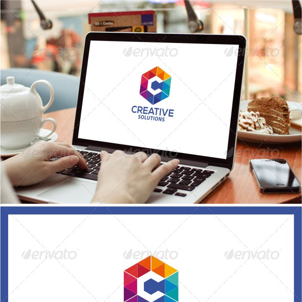 Creative Solutions Logo template