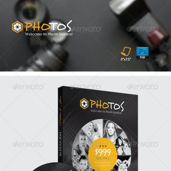 Photography Dvd Cover Templates