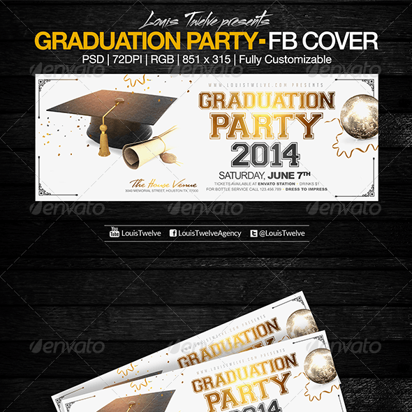 Graduation Party | Facebook Cover