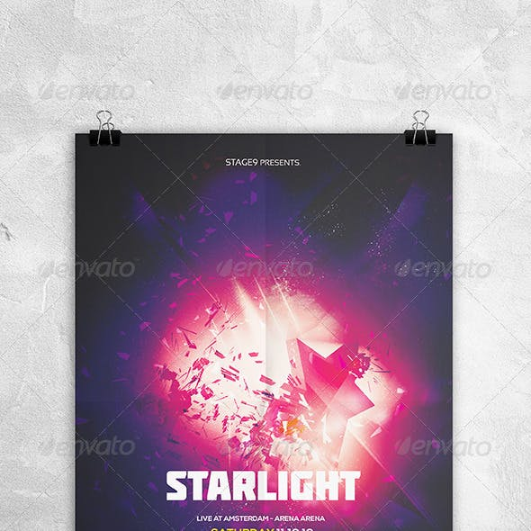 Starlight Flyer Template