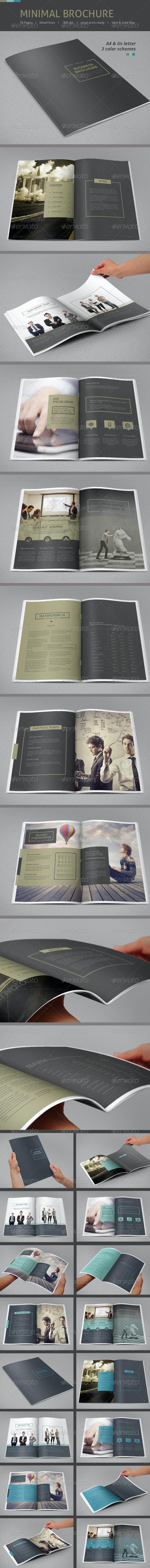 Minimal Business Brochure - Informational Brochures