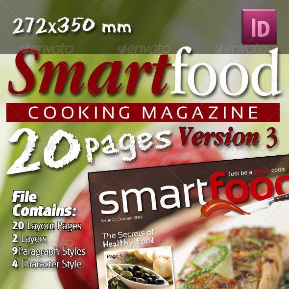 Smart Food Cooking Magazine Version Three