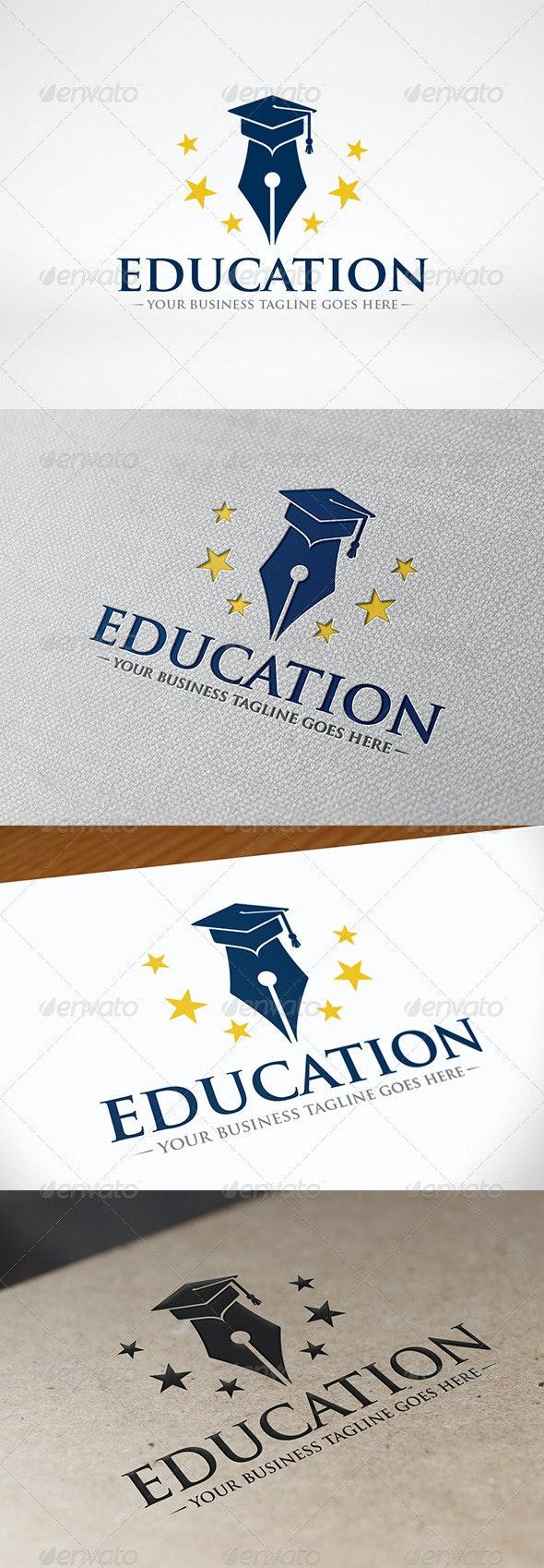Writer Education Logo - Symbols Logo Templates