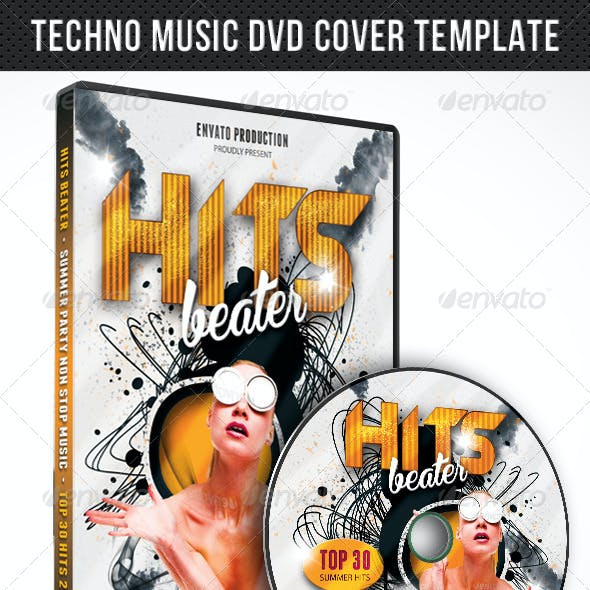 Best CD Cover and Music Disc Graphics, Designs & Templates