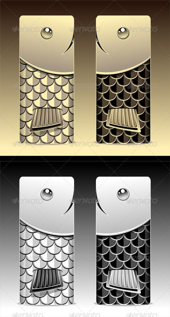 Bumper with Seamless Pattern Fish Scale - Patterns Decorative